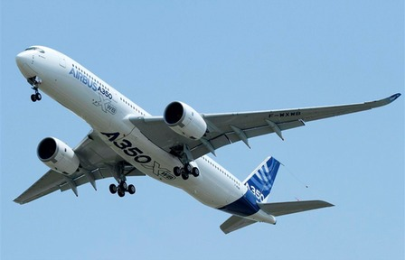 Airbus A350-XWB Maiden Flight