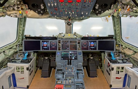 First Airbus A350 XWB Flight Deck