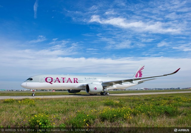 A350 XWB QATAR FIRST FLIGHT   5 -1170x814