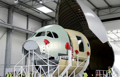 First Nose section delivered to Airbus